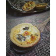 Mushroomy Quiche